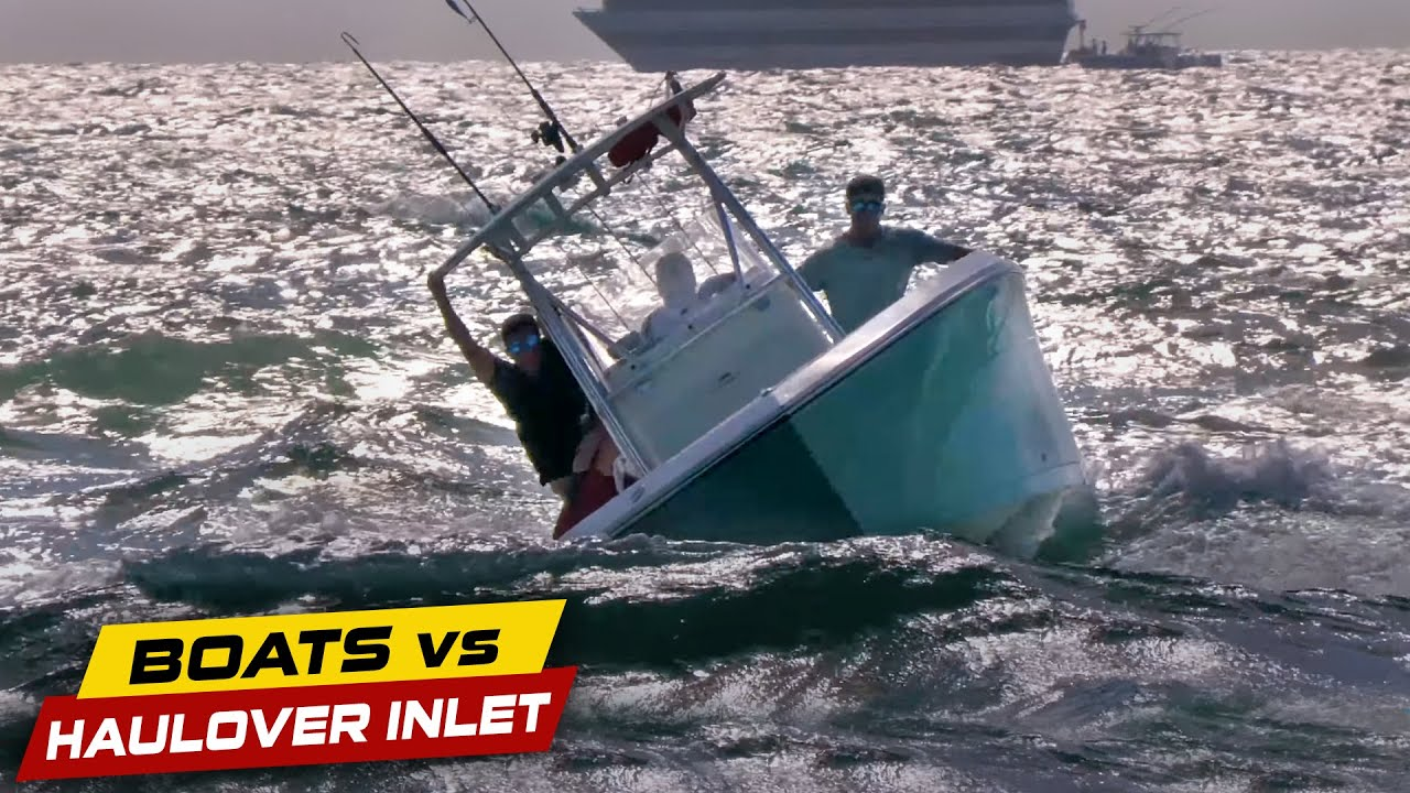CAPTAIN IS LOSING CONTROL! | Boats vs Haulover Inlet