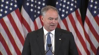 Tim Kaine: I'm proud of Hillary Clinton