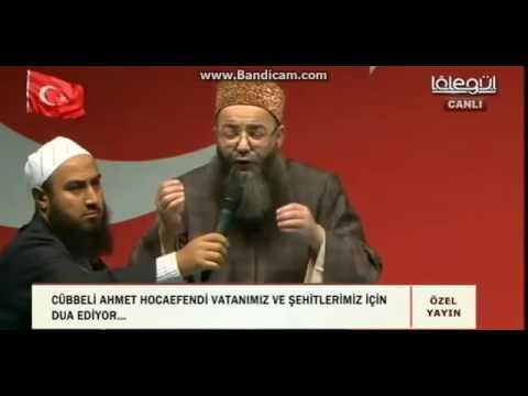Cübbeli Ahmet Hoca'nın Kısıklı'da Yaptığı DUA