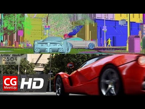 """CGI 3D Breakdown HD """"Making of The Crew Launch Trailer"""" by Unit Image 