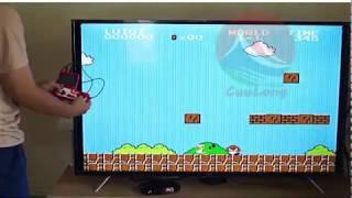 Máy Chơi Game Mario Nintendo, Chơi 2 Người Cùng Lúc, Màn Hình 3inch Có Sẵn 400 Games