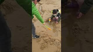 서겸 예진 모래 호수만들기(만리포해수욕장)