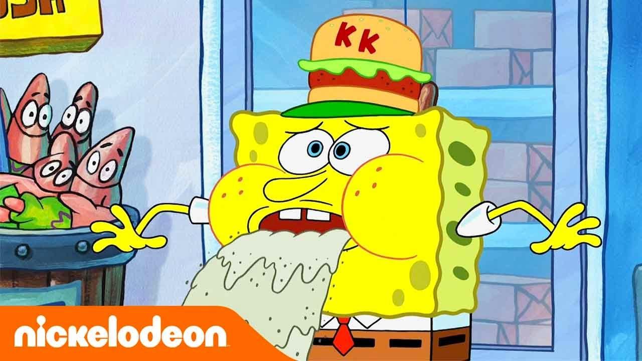 SpongeBob Kanciastoporty | Nie piasek, tylko miłość | Nickelodeon Polska