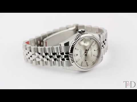Rolex DateJust Lady 31mm Steel Silver/Index Jubilee 178274 (T4D) watch review