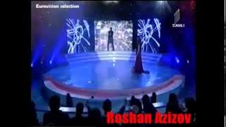 "Roshan Azizov "" Eye of the tiger "" (Survivor) _ Eurovision Selections"