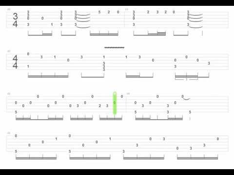 Anime guitar tabs Cowboy Bebop - Elm