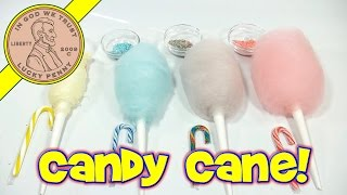 Cotton Candy Flavor Series: Christmas Candy Canes!