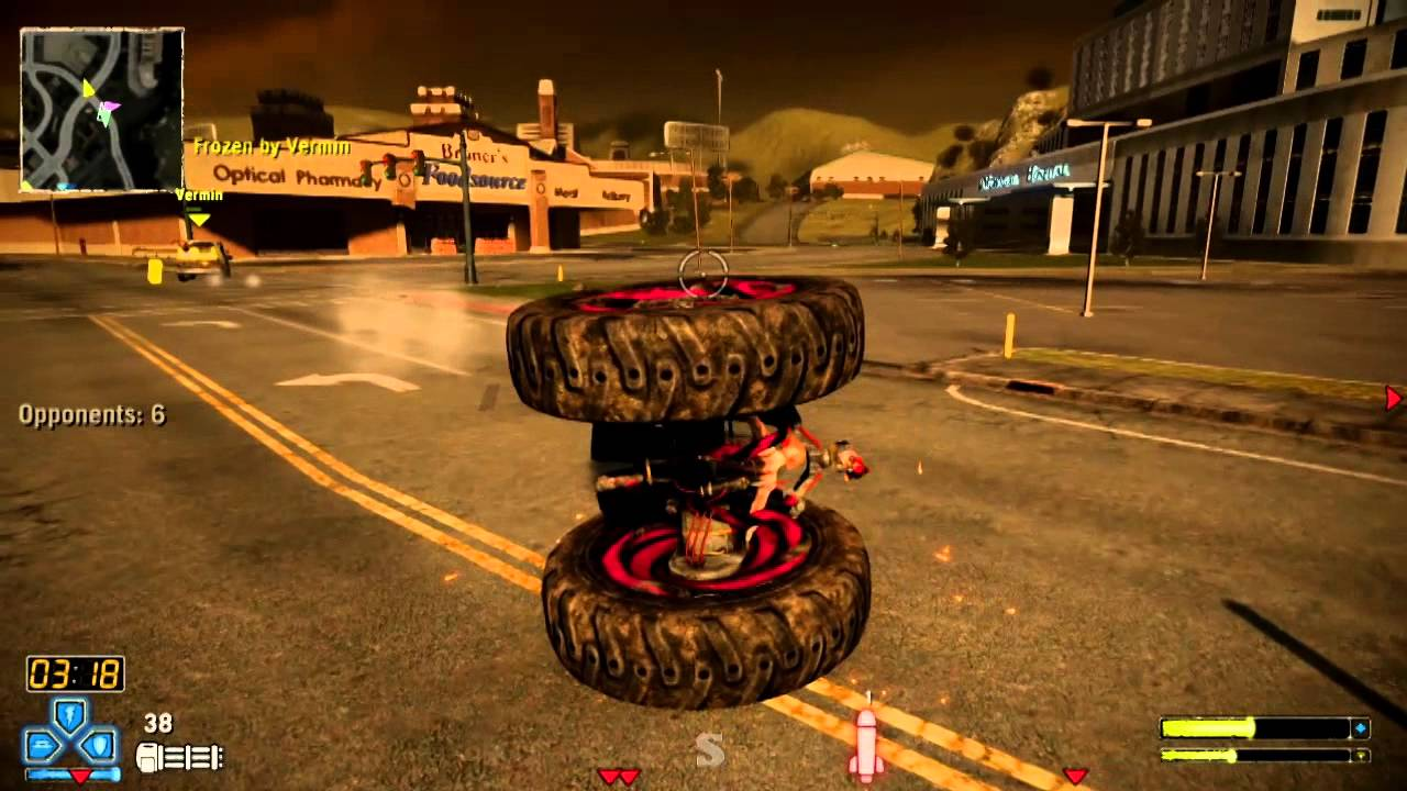 Twisted Metal Ps3 Axel Sunsprings California Deathmatch