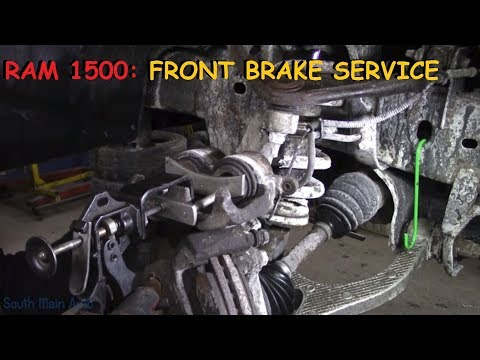 Dodge Truck: Front Brakes