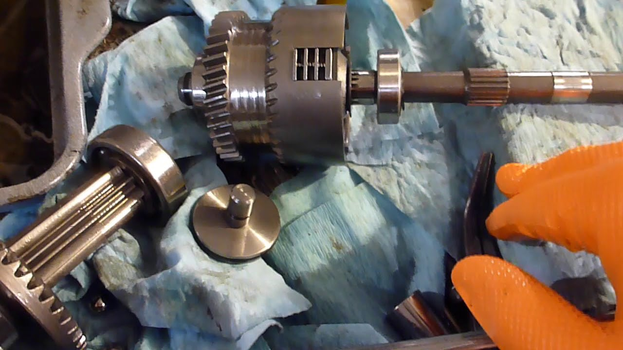 So what is inside a K91 Transaxle?? - MyTractorForum com