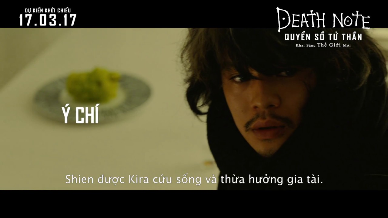 Download DEATH NOTE: LIGHT UP THE NEW WORLD - QUYỂN SỔ TỬ THẦN: KHAI SÁNG THẾ GIỚI MỚI TRAILER (2017)