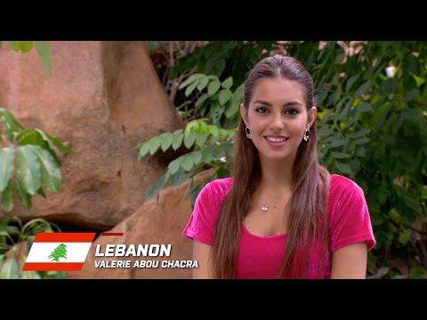 MW2015 : LEBANON, Valerie Abou Chacra - Contestant Profile