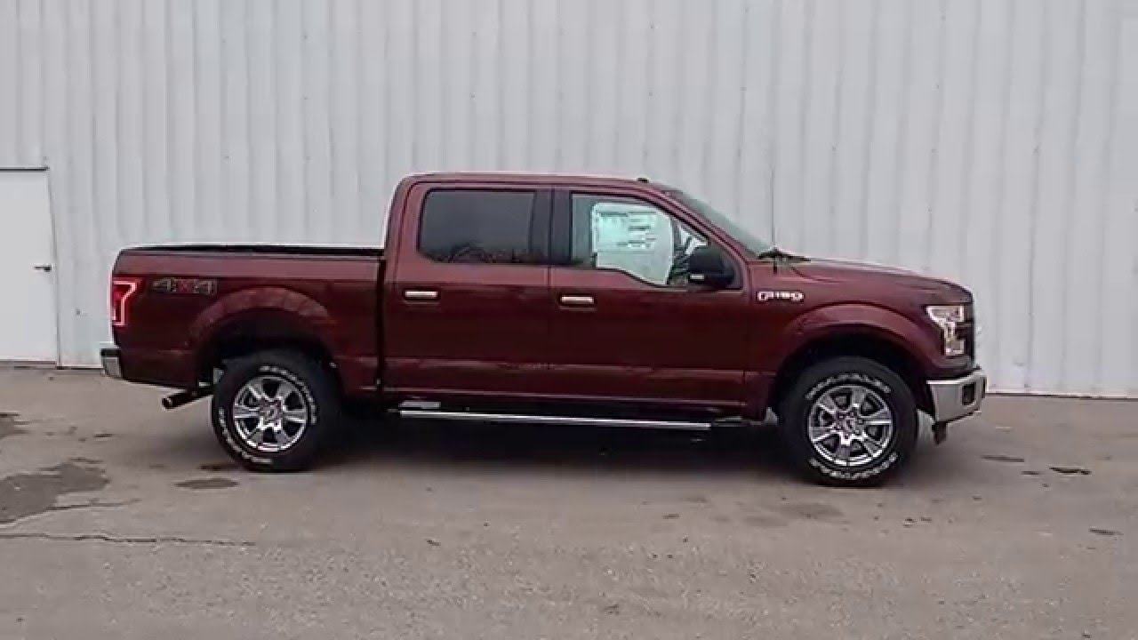 Bronze Fire 2016 F-150 SuperCrew 4x4 XLT | 5.5' | 5.0L V8 ...