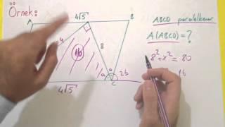 Paralelkenar 2 Alan Şenol Hoca Matematik