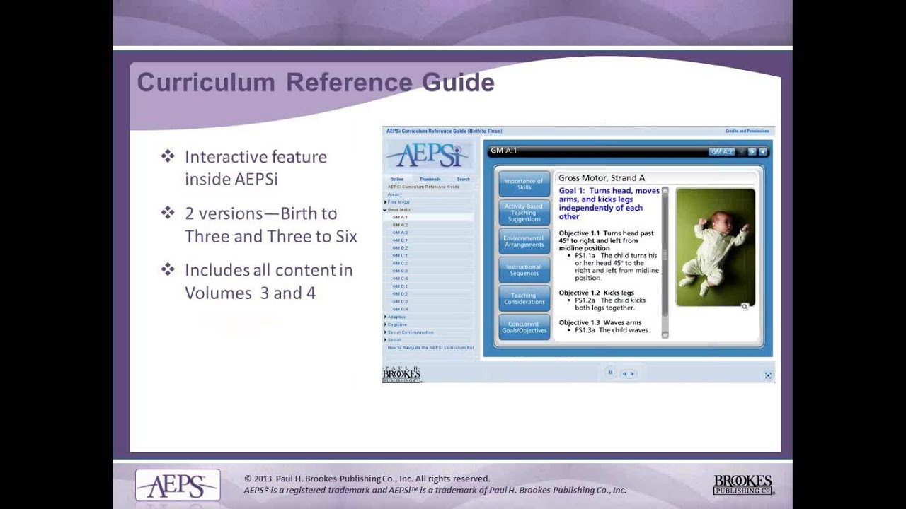 Download Reliable Assessment and Effective Programming with AEPS®