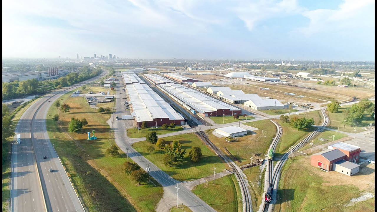 Warehousing and Industrial Space at America's Central Port