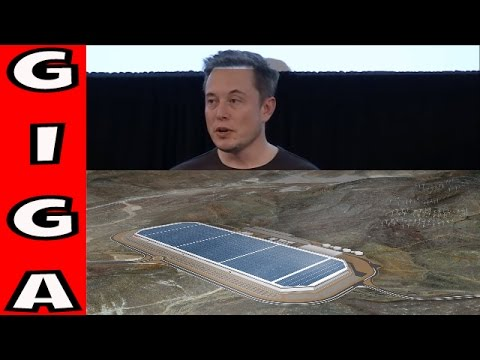 Elon Musk Talks About The Gigafactory