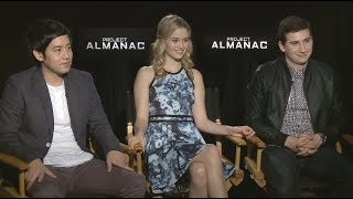 "Allen Evangelista, Ginny Gardner and Sam Lerner Talk 'Project Almanac' and ""Dance Dares"""