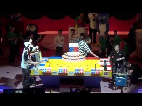 2013 - uART vs RCVA - Coupe de France de robotique 2013