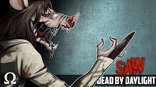 JIGSAW IS FINALLY HERE! (NEW DLC) | DBD #88 The SAW Chapter DLC Multiplayer
