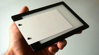 My New Light Pad Prototype for Making Flipbooks
