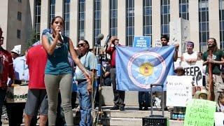 Anti-pipeline activists take fight to Washington.