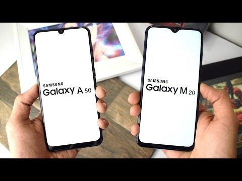 Samsung Galaxy A50 vs Galaxy M20: Speed Test!!!