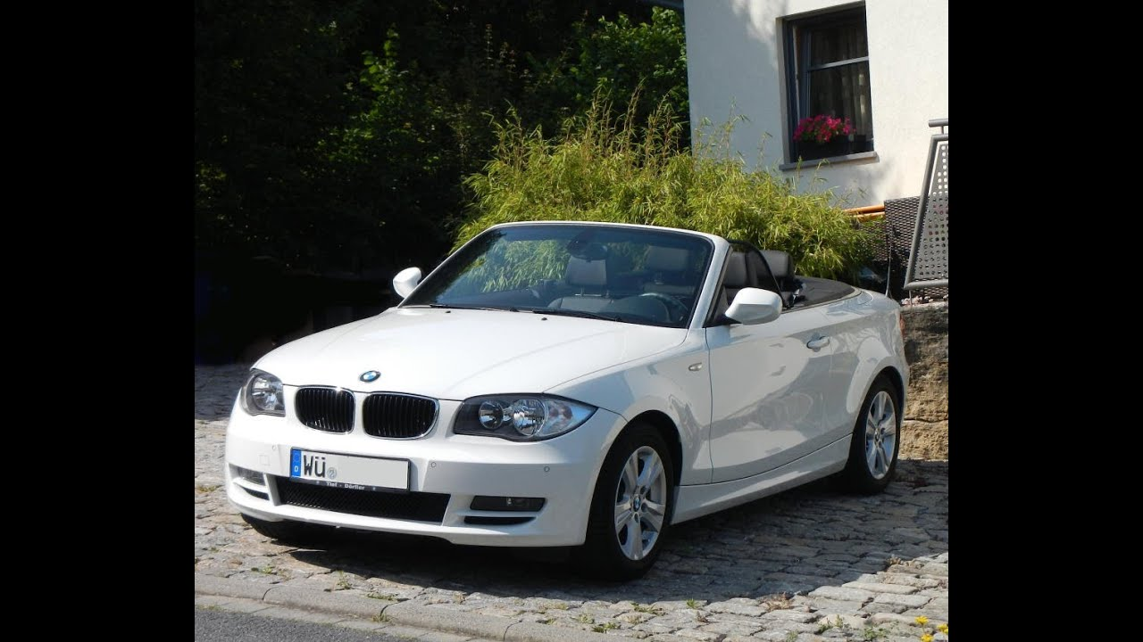bmw 118i cabrio youtube. Black Bedroom Furniture Sets. Home Design Ideas