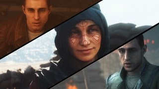 Battlefield 1 - All Endings (War Story Endings) 60 FPS
