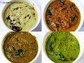 Different Type of Chutney Recipes/Chutney Recipe in Tamil/Chutney Varieties/Side Dish for Idli Dosa