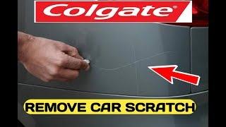 Remove Scratches From Car at Home - Remove Hair Line and Deep Scratch Permanently