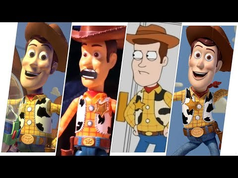 Sheriff Woody Evolution (Toy Story).