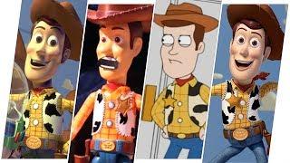 Sheriff Woody Evolution (Toy Story).