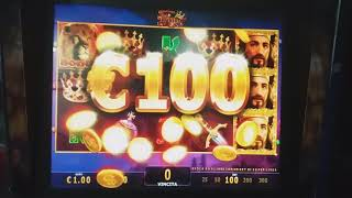 GLORIOUS KING BONUS 400£ VINTI.