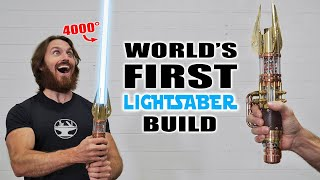 4000° PLASMA PROTO-LIGHTSABER BUILD (RETRACTABLE BLADE!)