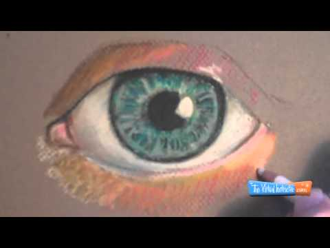 how-to-draw-with-pastel-pencils--eye-demonstration