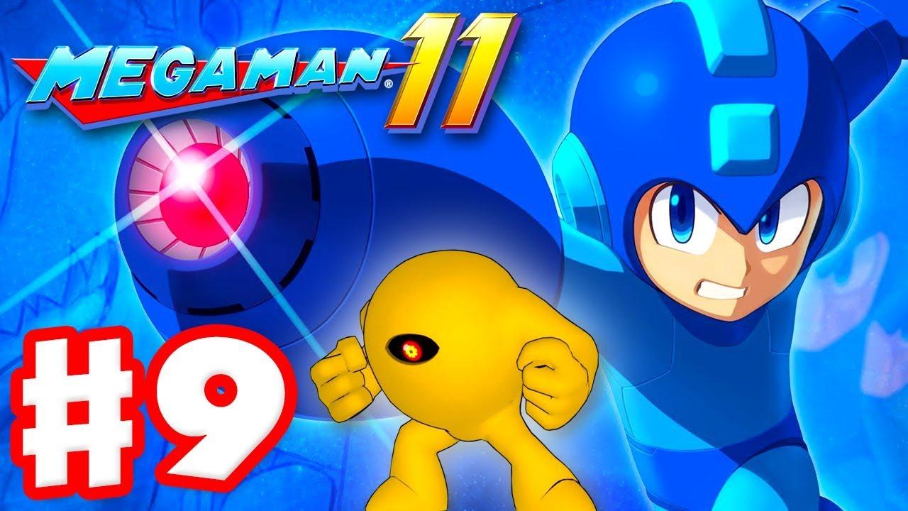 Mega Man 11 - Gameplay Walkthrough Part 9 - Yellow Devil! Dr. Wily's Gear Fortress! (PC)