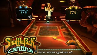 SHUFFLEPUCK CANTINA (PC): viva el Air Hockey || Sección Indie || Review en Español HD