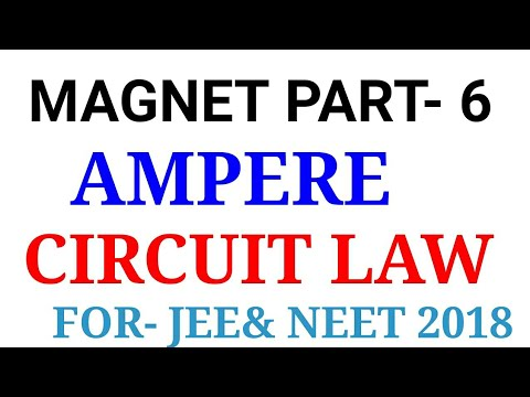 Ampere Circuit Law in hindi