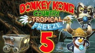 Let's Play Donkey Kong Country Tropical Freeze Part 5: Kreissägen-Bootsfahrt