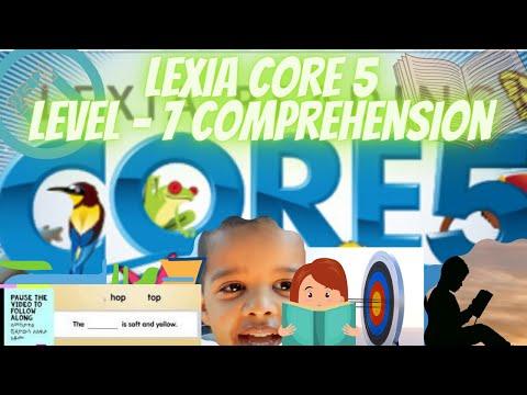 Lexia Core 5 Level 7 Sentence Comprehension 1 PART 2