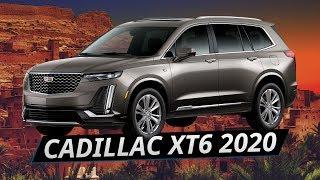 Новый Cadillac XT6 2020 тест
