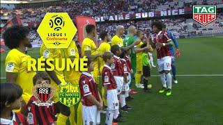 OGC Nice - FC Nantes ( 1-1 ) - Résumé - (OGCN - FCN) / 2018-19
