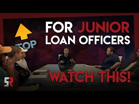 If You're A Junior Loan Officer, Watch This!