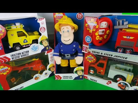 fireman-sam-top-5-toys-with-helicopter-and-fire-truck-🚒🚁