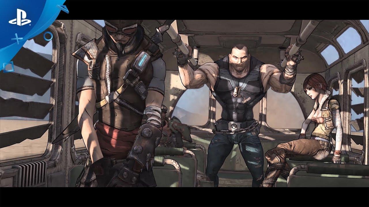 『ボーダーランズ』ゲーム・オブ・ザ・イヤー エディション PlayStation®4リマスター版トレーラー