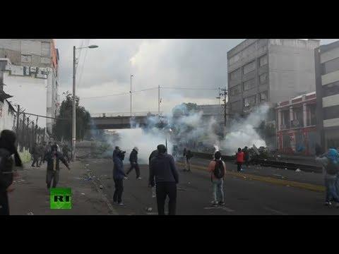 Disturbios en las manifestaciones de Quito, Ecuador