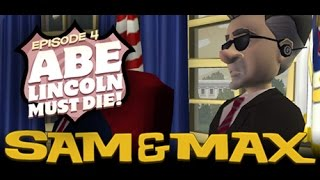 Sam & Max Save The World Longplay Episode 4: Abe Lincoln Must Die [X360]