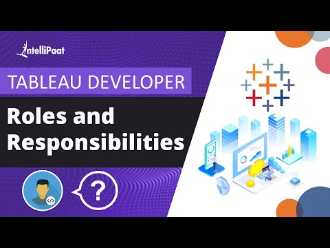 Tableau Developer Roles and Responsibilities | Tableau Training