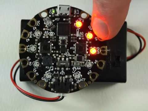 Circuit Playground Simple Simon Game Play